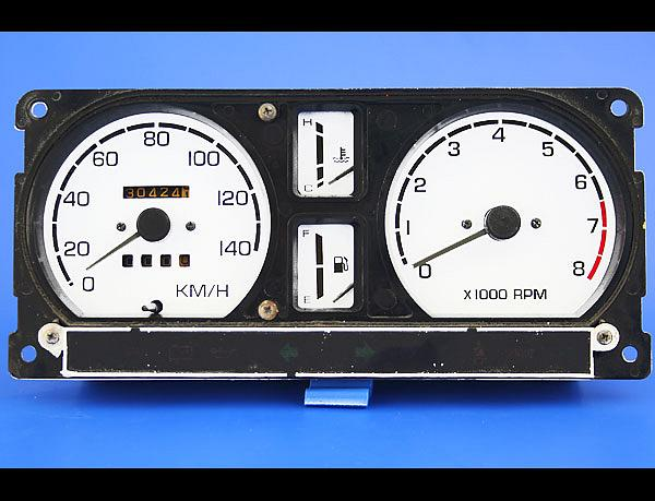 suzuki samurai trailer wiring harness 1986-1988 suzuki samurai tach round vent metric kmh ... suzuki samurai tachometer wiring