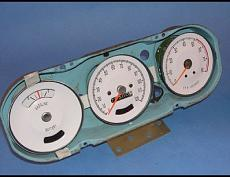 1965 1967 Pontiac GTO Lemans Rally White Face Gauges pic 2