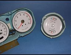 1965 1967 Pontiac GTO Lemans Rally White Face Gauges pic 4