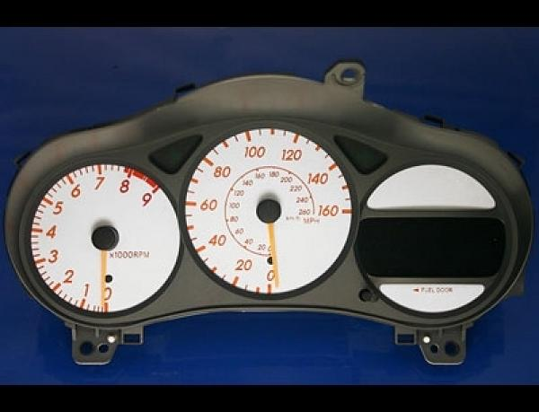 2003 2005 Toyota Celica Gts Dash Cluster White Face Gauges