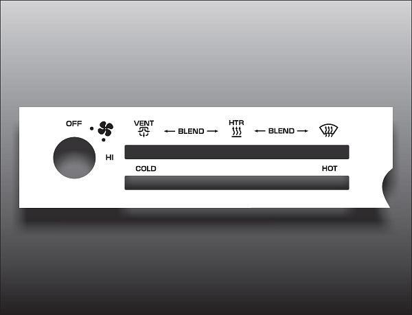 HVAC Heater Core Front APDI 9010214